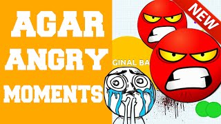 Agar.io Angry Moments Compilations ★ I want to crash my computer !