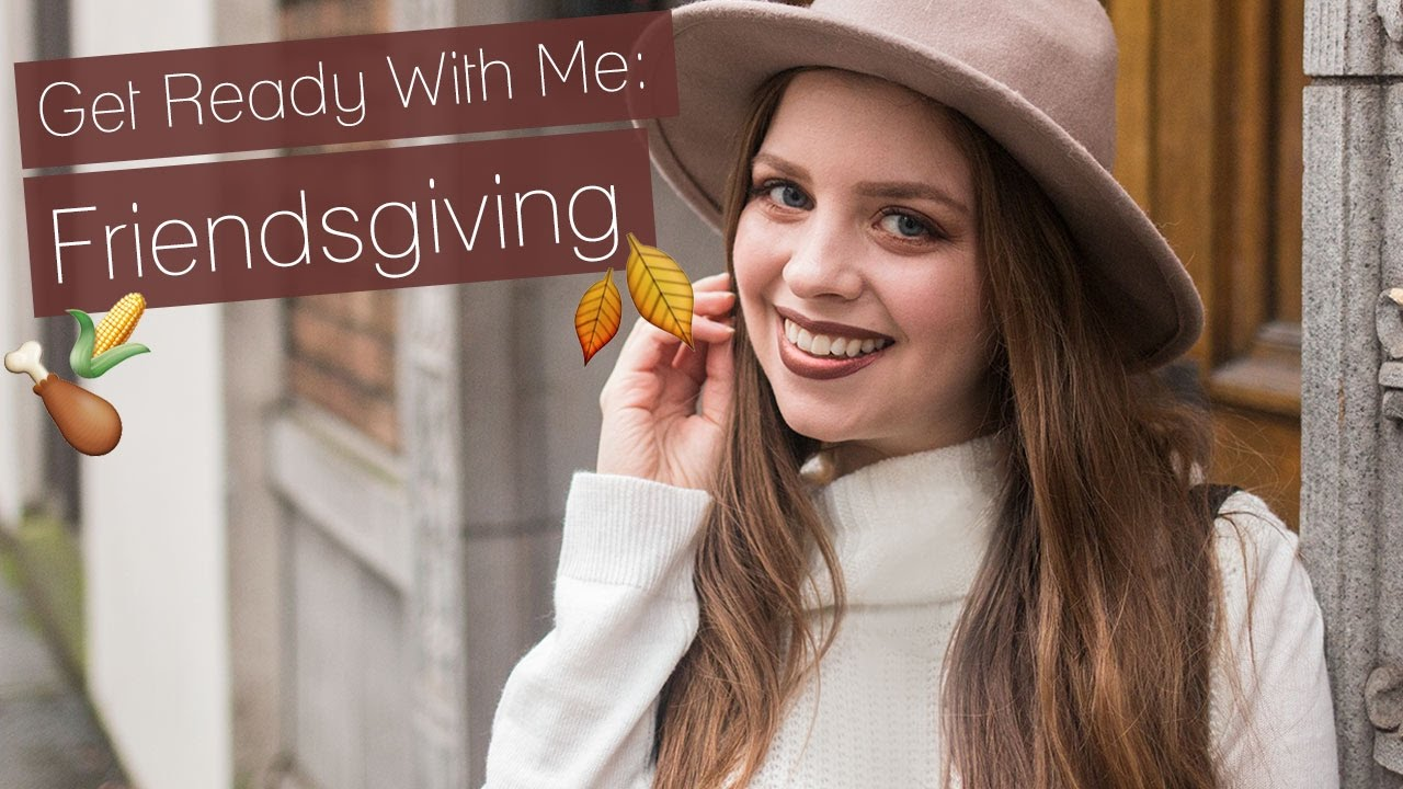 16eb4ddac1c Get Ready With Me Friendsgiving Fall Budget Friendly Makeup