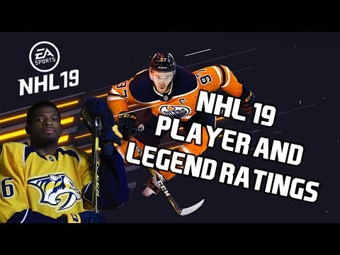 NHL 19 All Player & Legend Ratings