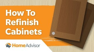 How To Refinish Cabinets | Painting Guide