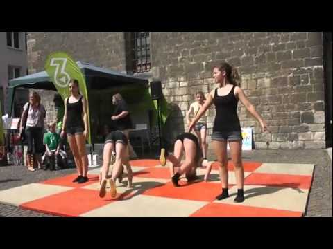 Bodenturnen Tanz Jg 8 Cjd Elze Beim 3 Hildesheimer Lernfest