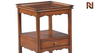 Hekman 8-1063 Cordial Table W/drawer From Accents