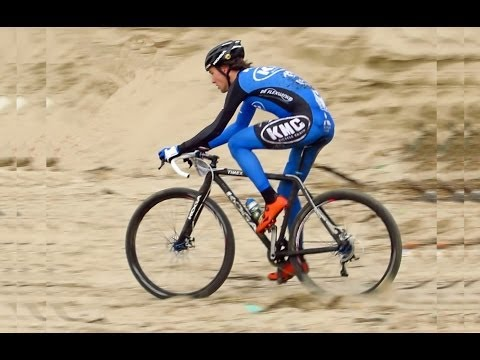 Pembrey Battle on the Beach cycling race 16th March 2014.