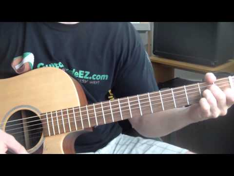 Clay Walker - She Won't Be Lonely Long - Guitar Tutorial