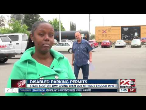 Disabled parking permits given to drivers who don't need it