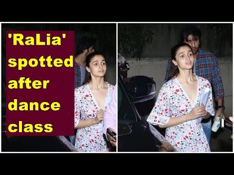 Alia Bhatt, Ranbir Kapoor snapped after dance class Mp3