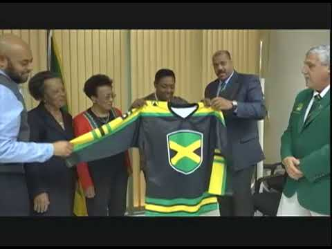 Jamaica Will Have Its Own Ice Hockey Ring In 2018 - TVJ Prime Time Sports - December 5 2017