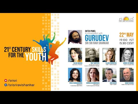 gurudev-interacting-with-the-dutch-panel-|-21st-century-skills-for-the-youth