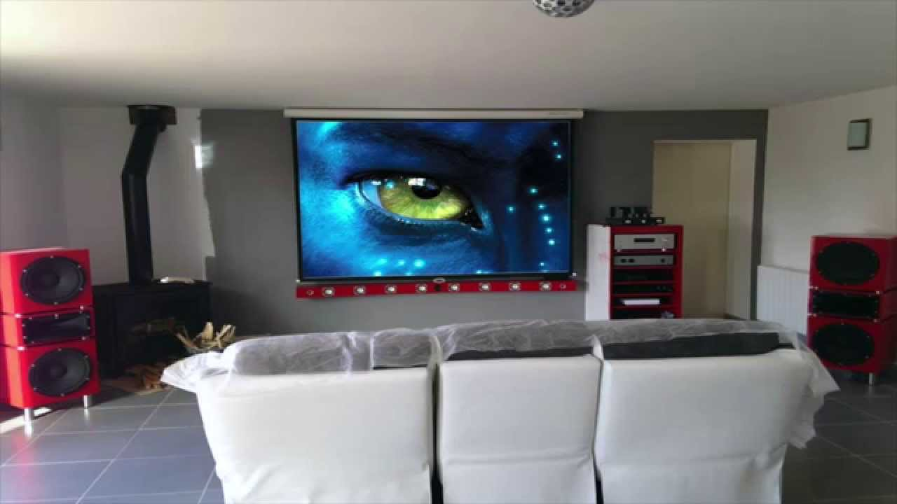 Home Cinema Maison Affordable Automation System With Home Cinema  # Meuble Home Cinema Diy