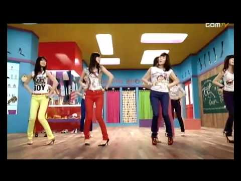 [HQ] SNSD - Gee - Dance Version (with original background)