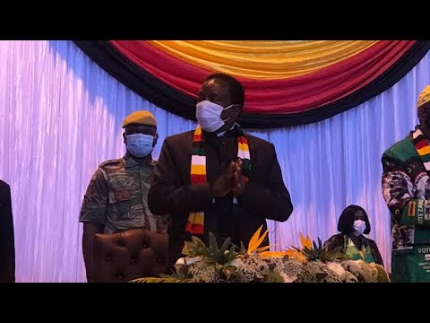President Mnangagwa Gives Latest Update On VP Chiwenga Health Status