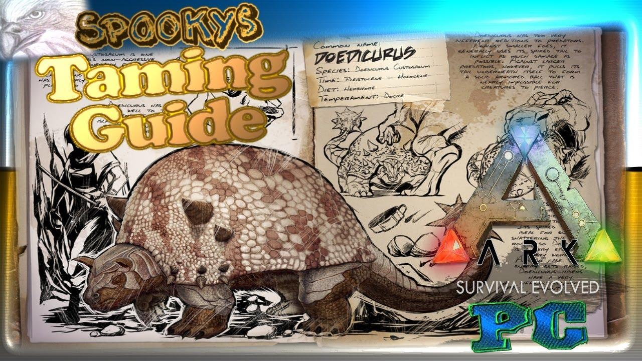 doedicurus zähmen