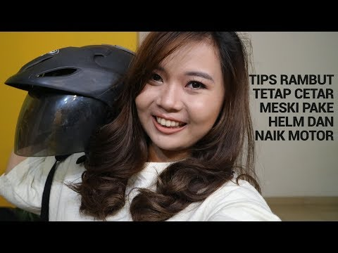 Tips Rambut Gak Lepek dan Tetap Cetar Meski Pakai Helm dan Naik Motor Mp3