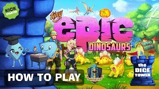 Tiny Epic Dinosaurs - How to Play. With Stella & Tarrant