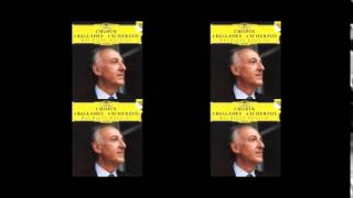 POLLINI, Chopin Ballade No.1 in G minor, op.23
