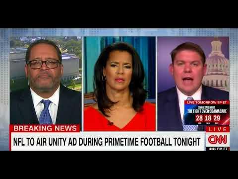 Conservative Ben Ferguson Battles With Leftist Michael Eric Dyson Over NFL Protests