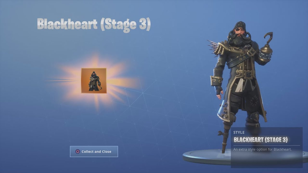 *UNLOCKING* Legend Style For Outfit 'BLACKHEART' After ...