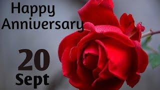 Happy Anniversary 20 SEPT| Wedding Anniversary Wishes/Greetings/Quotes/ For CoupleWhatsapp Status
