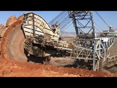 Wheel Bucket Excavator - Mining