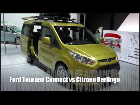 Ford Tourneo Connect Vs Citroen Berlingo Youtube