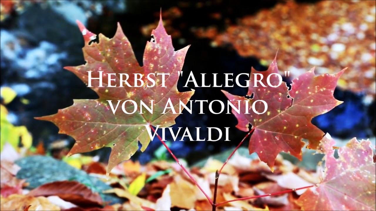 """herbst """"allegro"""" aus den vier jahreszeiten von antonio"""