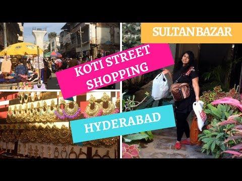 Koti/Sultan Bazar Street Shopping Haul | Hyderabad Street Shopping | Priyanka Boppana
