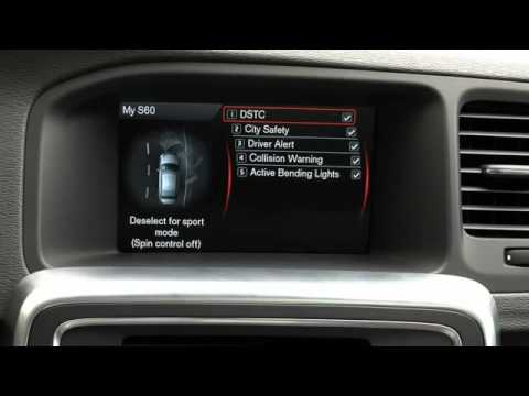 volvo s60 how to use the sensus system my car menu youtube rh youtube com