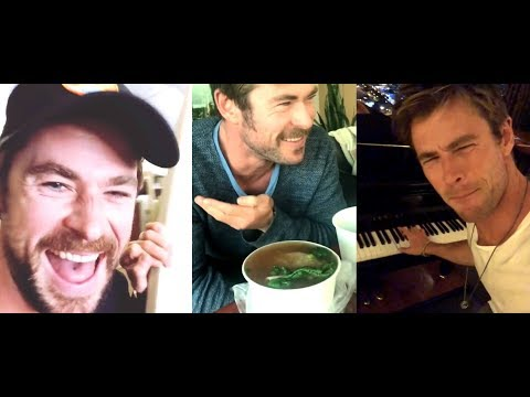 Chris Hemsworth - Funny moments 2018