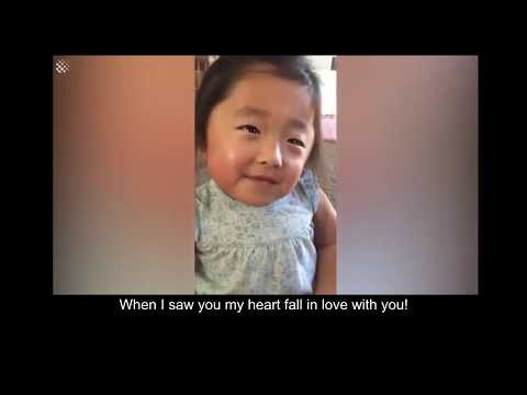 Beautiful moment : Adopted girl - Gabby told secret to her mom