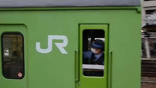 JR奈良線103系NS407編成普通奈良行き木津駅発車 #JR西日本 #103系