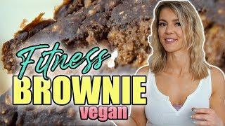 BESTES BROWNIE Fitness Rezept 💥Vegan 🌱+ vegetarisch