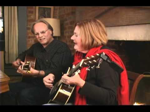 Huss & Dalton guitar:  Robin &Linda Williams: Wildwood Flower & Interview 01