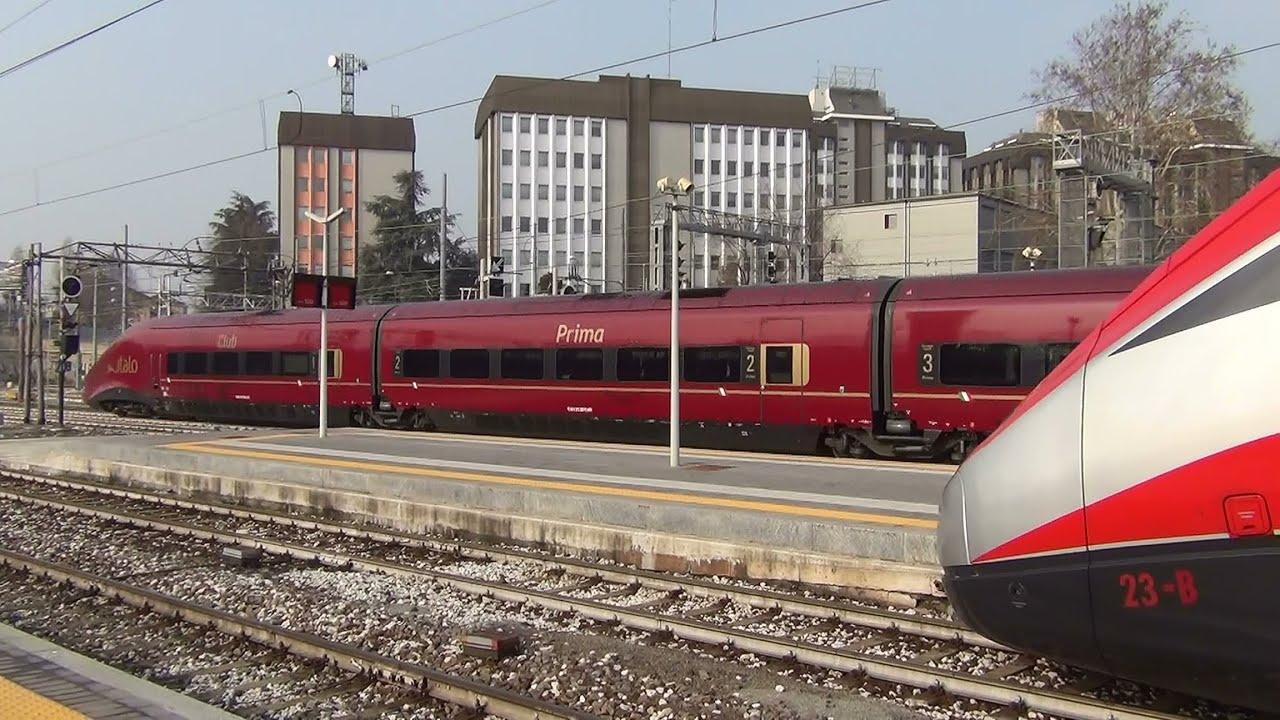 Tutti i treni di milano porta garibaldi 2 parte youtube - Binario italo porta garibaldi ...