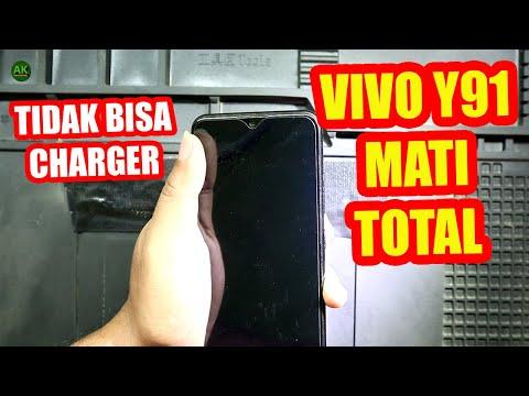 Cara Memperbaiki HP Vivo Y91 Mati Total ( Dead Not charging ).