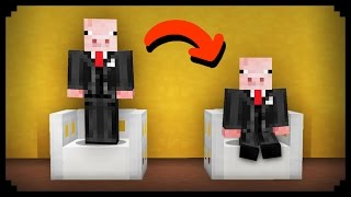 ✔ Minecraft: How to make Any Chair Sittable