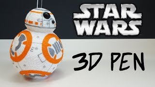 BB 8 - 3D pen creation