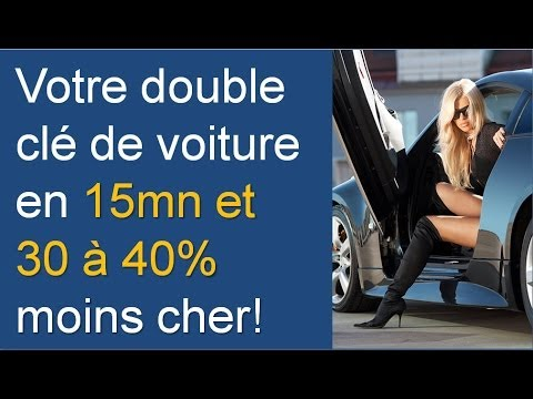 refaire double cl de voiture cl de voiture 30 40 doovi. Black Bedroom Furniture Sets. Home Design Ideas