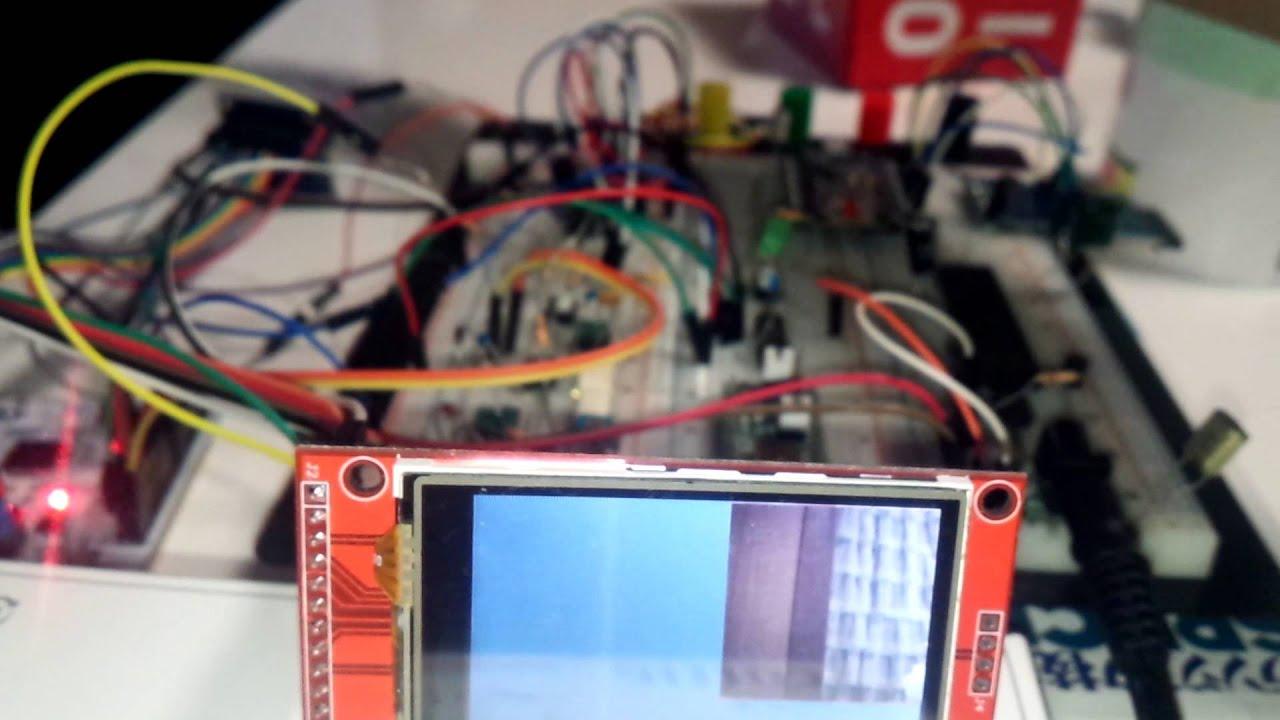 【DMA】nucleo f401re + OV7670 + SPI LCD