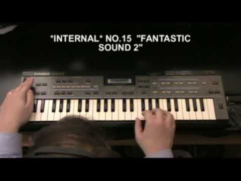Casio CZ-101 video review part 2 of 4