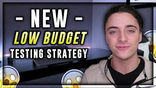 Low Budget Facebook Ad Strategy | Shopify Dropshipping in 2019