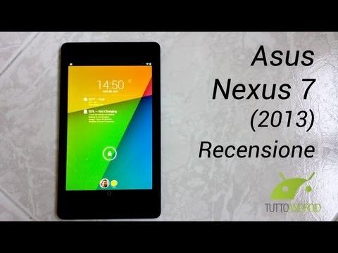 Asus Nexus 7 (2013) Recensione in Italiano da TuttoAndroid.net