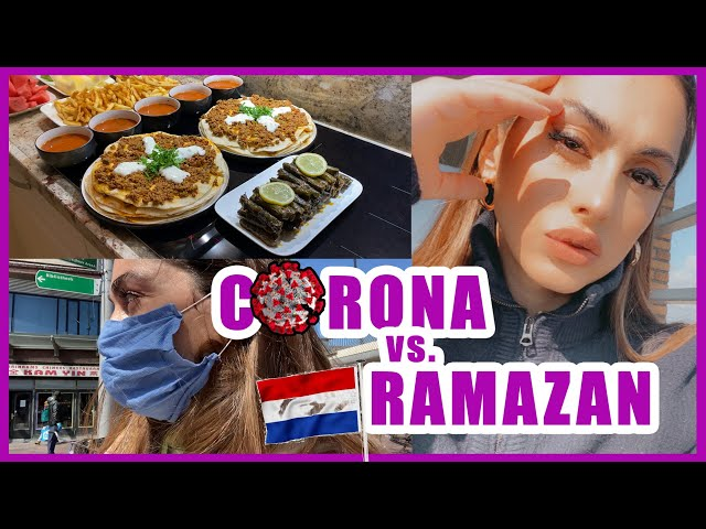 RAMAZAN FT. CORONA ÖZEL VLOG HOLLANDA!