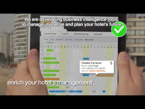 Clerk, hotel management PMS for SME accommodation hotel, hostel, BB