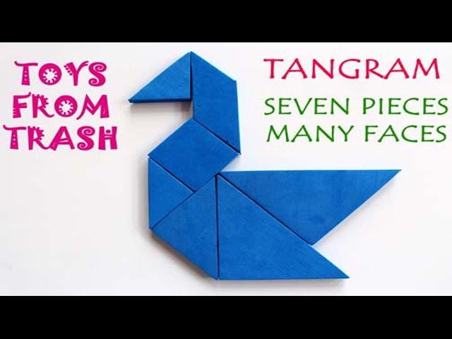 Tangram - Seven Pieces Many Faces | English | Evergreen Puzzle