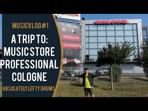 A Trip to: Music Store Professional Cologne ( Europe's Largest Music Store)