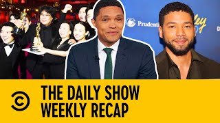 The Monday Times: Parasite, Disney, Jussie Smollett, Mice Fight | The Daily Show With Trevor Noah