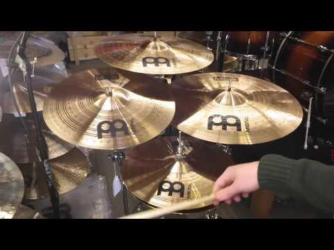 Meinl MCS Complete Cymbal Set - 20r, 18c, 16c, 14h