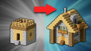 How to Transform a Village Small House | Minecraft