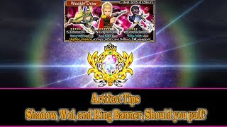 Dissidia Final Fantasy Opera Omnia Artifacts Tips and King Weekly Banner(#8)