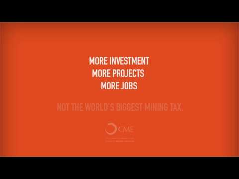 CME Iron Ore Tax Campaign - Brendon Grylls' Tax Will Make WA Uncompetitive On World Stage